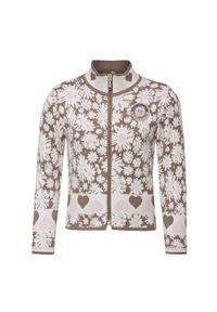 Różowa bluza Poivre Blanc z nadrukiem