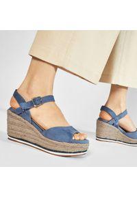Refresh - Espadryle REFRESH - 72756 Jeans. Okazja: na co dzień. Kolor: niebieski. Materiał: materiał. Styl: casual #2