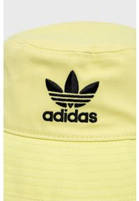 adidas Originals - Kapelusz. Kolor: żółty