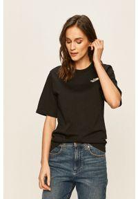 The North Face - T-shirt. Okazja: na co dzień. Kolor: czarny. Materiał: dzianina. Styl: casual