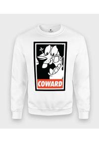 MegaKoszulki - Bluza klasyczna Tchórzliwy Pies. Styl: klasyczny
