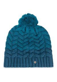 Niebieska czapka salomon