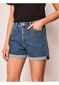 Niebieskie szorty jeansowe Lee
