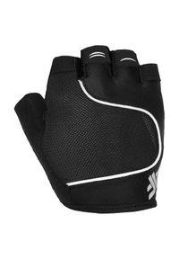 4f - Rękawice rowerowe 4F H4L21-RRU061. Kolor: czarny. Materiał: elastan, poliamid, materiał. Sport: kolarstwo