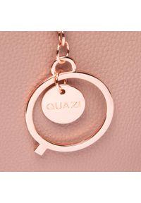 Torebka QUAZI - RC18618 Pink. Kolor: różowy. Materiał: skórzane