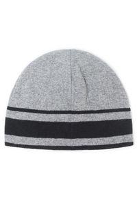 Szara czapka zimowa Hugo