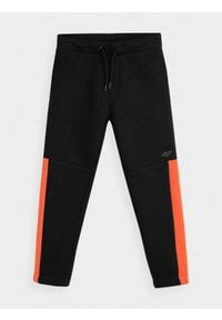 Czarne spodnie dresowe 4f