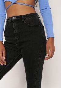Renee - Czarne Jeansy Kaliala. Stan: podwyższony. Kolor: czarny #3