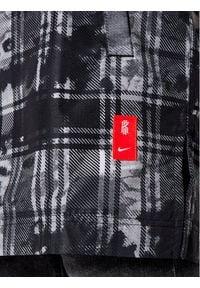 Nike Kurtka przejściowa Kyrie CK6751 Szary Loose Fit. Kolor: szary