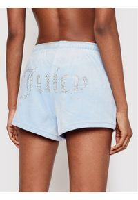 Niebieskie szorty Juicy Couture sportowe