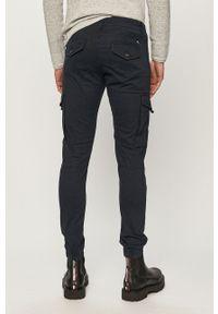 Jack & Jones - Spodnie. Okazja: na co dzień. Kolor: niebieski. Materiał: tkanina, elastan, bawełna. Wzór: gładki. Styl: casual #4
