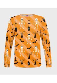 MegaKoszulki - Bluza damska fullprint Skeletons. Długość: długie. Styl: klasyczny