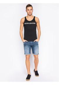 Czarny tank top Calvin Klein Jeans