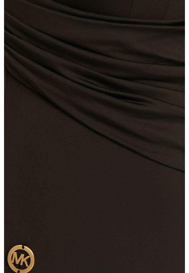 Czarny strój kąpielowy Michael Kors z odpinanymi ramiączkami