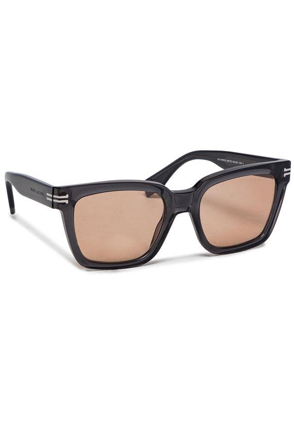 Okulary przeciwsłoneczne MARC JACOBS - 1010/S Grey KB7. Kolor: brązowy, wielokolorowy, czarny