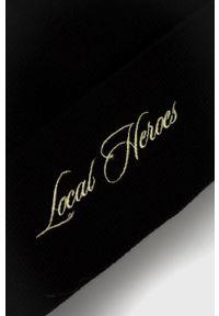 Local Heroes - Czapka. Kolor: czarny. Materiał: dzianina