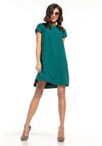 Zielona sukienka wizytowa Tessita wizytowa