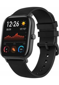 AMAZFIT - Smartwatch Amazfit GTS Czarny (6970100373462). Rodzaj zegarka: smartwatch. Kolor: czarny