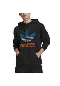Adidas - adidas Originals Trefoil Ombre Hoodie > GP0158. Okazja: na co dzień. Typ kołnierza: kaptur. Materiał: materiał, bawełna. Wzór: aplikacja. Styl: klasyczny, casual