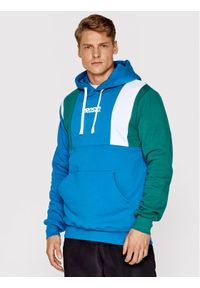 Prosto. - PROSTO. Bluza KLASYK. Etap 2052 Granatowy Regular Fit. Kolor: niebieski