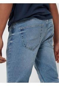 Only & Sons - ONLY & SONS Jeansy Warp Life 22015149 Niebieski Skinny Fit. Kolor: niebieski #3