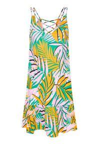 Maaji Sukienka letnia 1616CSD003 Kolorowy Regular Fit. Wzór: kolorowy. Sezon: lato