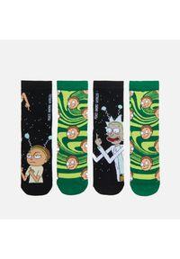 2 pack skarpetek Rick and Morty - Czarny