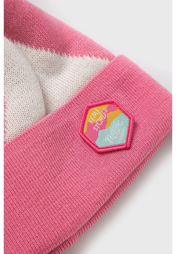 Różowa czapka Femi Stories