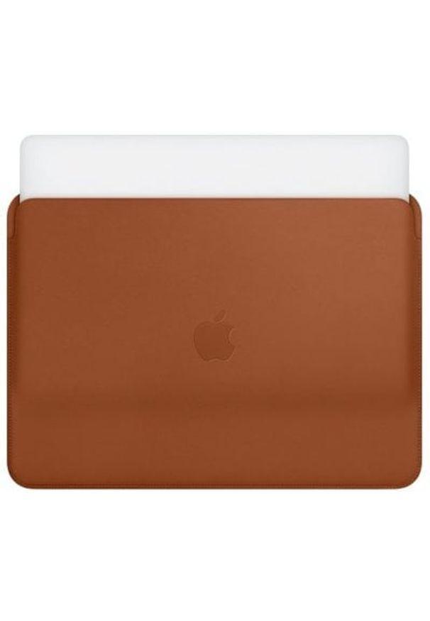Brązowe etui na laptopa APPLE