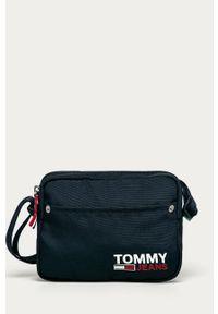 Niebieska listonoszka Tommy Jeans mała, na ramię