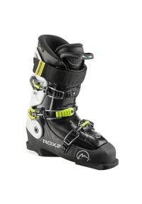 Buty narciarskie freeride ROXA ELEMENT 90 męskie. Zapięcie: klamry. Kolor: czarny, biały, żółty, wielokolorowy. Sport: narciarstwo
