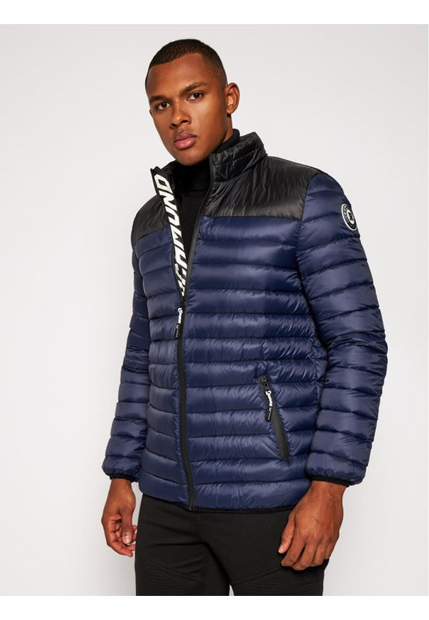 Niebieska kurtka zimowa John Richmond
