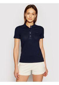 Niebieska koszulka polo Lacoste polo