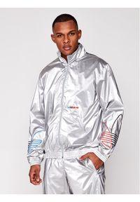 Srebrna kurtka przejściowa adidas Originals