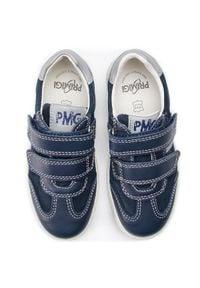 Primigi - Sneakersy PRIMIGI - 3383111 S Navy. Okazja: na spacer. Zapięcie: rzepy. Kolor: niebieski. Materiał: zamsz, skóra. Szerokość cholewki: normalna
