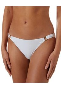 Melissa Odabash - MELISSA ODABASH - Biały dół od bikini Montenegro. Stan: obniżony. Kolor: biały. Materiał: tkanina