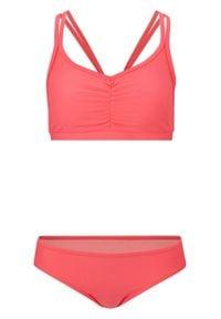 Bikini bustier (2 części) bonprix koralowy. Kolor: pomarańczowy