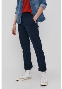Tom Tailor - Spodnie. Kolor: niebieski. Materiał: bawełna
