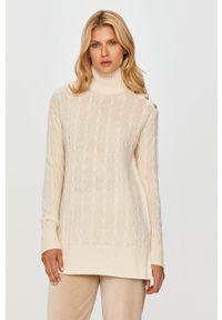 Kremowy sweter Polo Ralph Lauren polo