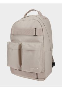 4f - Plecak miejski. Kolor: beżowy. Wzór: paski