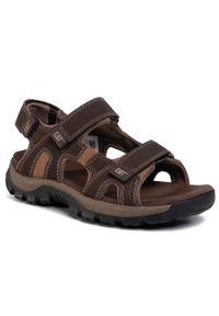Brązowe sandały CATerpillar klasyczne, na lato