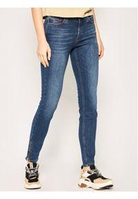 Tommy Jeans Jeansy Skinny Fit Nora DW0DW08101 Granatowy Skinny Fit. Kolor: niebieski