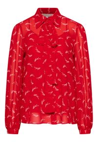 MICHAEL Michael Kors Koszula MH04M7UGKY Czerwony Regular Fit. Kolor: czerwony