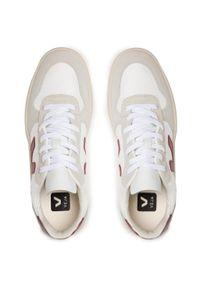 Veja - Sneakersy VEJA - V-10 B-Mesh VX011314B White Natural Marsala. Okazja: na co dzień. Kolor: wielokolorowy, biały, beżowy. Materiał: zamsz, materiał, skóra. Szerokość cholewki: normalna. Styl: casual, sportowy