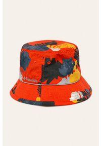 Pomarańczowy kapelusz columbia