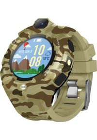 Beżowy zegarek FOREVER smartwatch