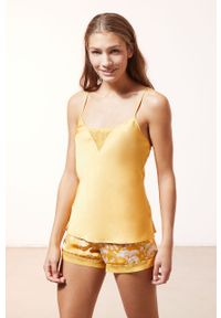 Żółta piżama Etam