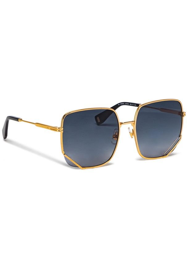 Okulary przeciwsłoneczne MARC JACOBS - MJ 1008/S 001 Yellow Gold. Kolor: złoty