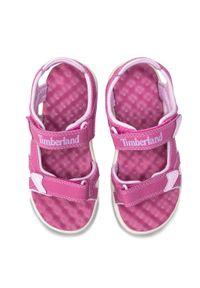 Różowe sandały Timberland na lato