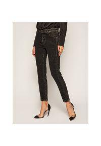 Czarne jeansy slim Diesel